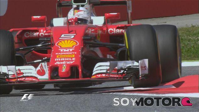 Sebastian Vettel en los Libres 1 de España - LaF1