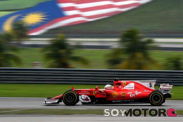 Ferrari en el GP de Malasia F1 2017: Viernes