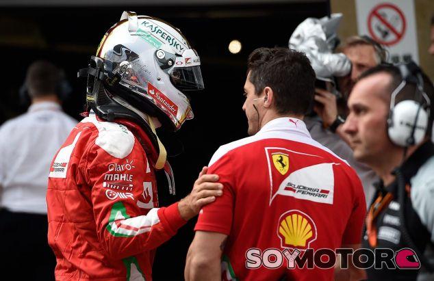 Sebastian Vettel durante el GP de China de 2016 - LaF1