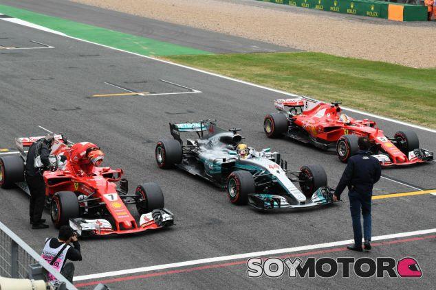 Hamilton, por delante de los Ferrari en la clasificación de Silverstone - SoyMotor.com