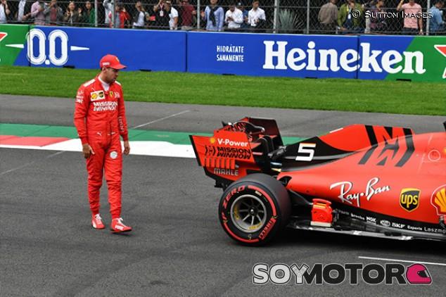 Vettel, en contra de coches de Fórmula 1 más lentos y pesados - SoyMotor.com
