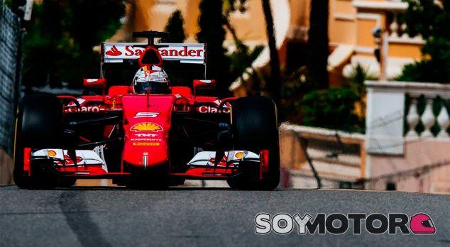 Sebastian Vettel, hoy en Mónaco - LaF1