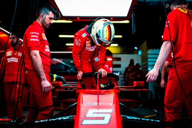 La F1 ideal de Vettel: sin baterías y con motores con el doble de cilindros  - SoyMotor.com