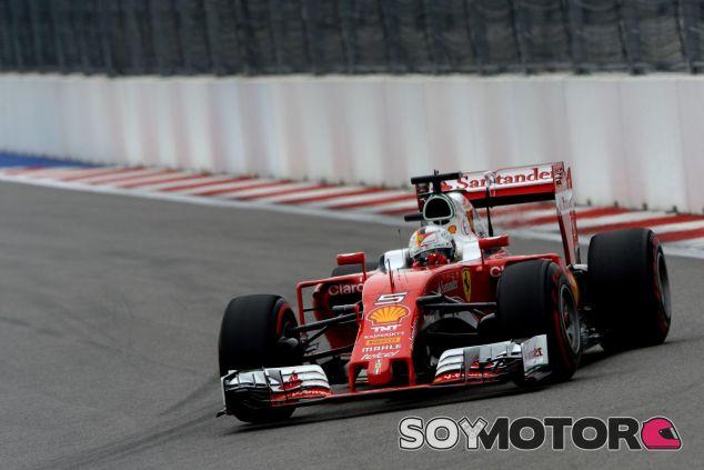 Vettel en el GP de Rusia - SoyMotor