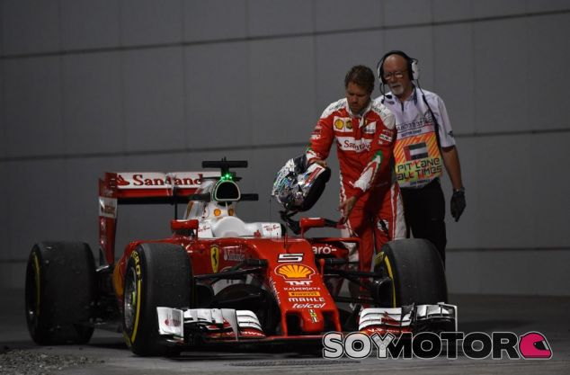 Sebastian Vettel en los Libres de Abu Dabi - SoyMotor