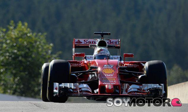 Sebastian Vettel en Bélgica - laF1