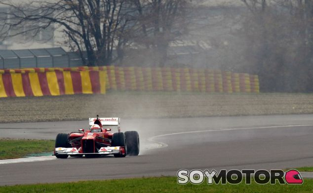Vettel rodando en Fiorano con el F2012 - LaF1.es