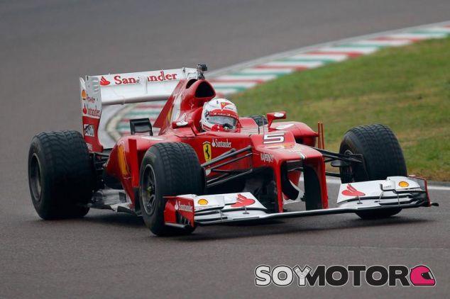 Sebastian Vettel en Fiorano - LaF1
