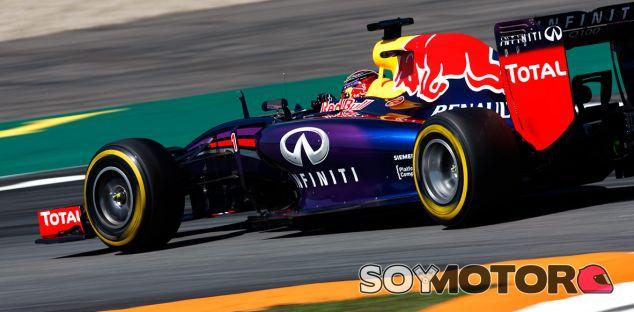 Red Bull en el GP de Alemania F1 2014: Viernes