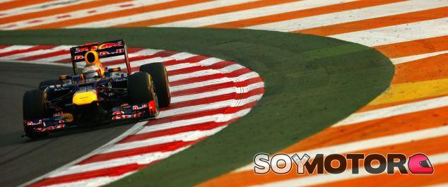 Sebastian Vettel en el GP de la India F1 2012