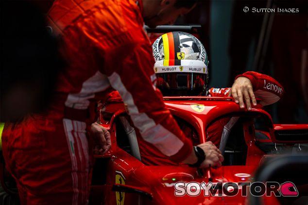 Sebastian Vettel en Sochi - SoyMotor.com