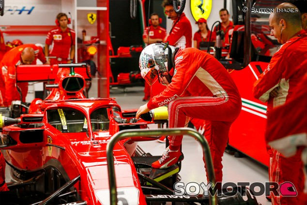 Sebastian Vettel en Marina Bay - SoyMotor.com