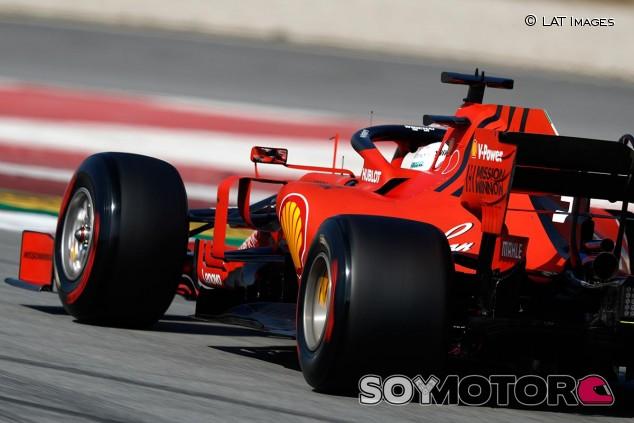 Sebastian Vettel, hoy en el Circuit de Barcelona-Catalunya - SoyMotor
