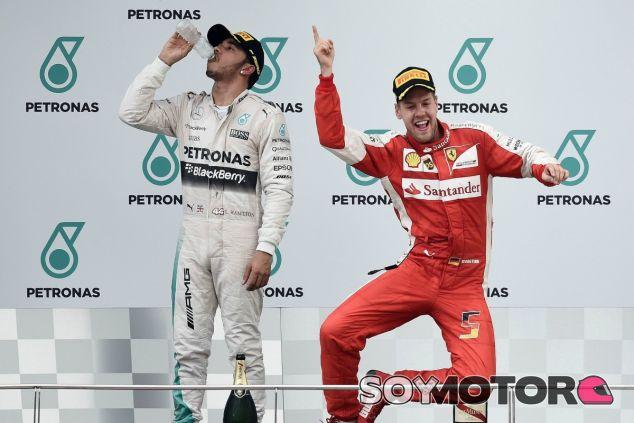 Hamilton quiere evitar que Vettel llegue a los siete títulos de Schumacher - LaF1