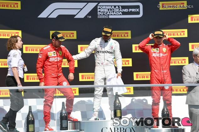 Mercedes evitó regodearse con la victoria en Canadá por respeto a Ferrari - SoyMotor.com