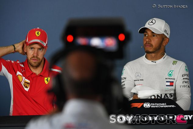 Sebastian Vettel y Lewis Hamilton en Hungaroring - SoyMotor.com