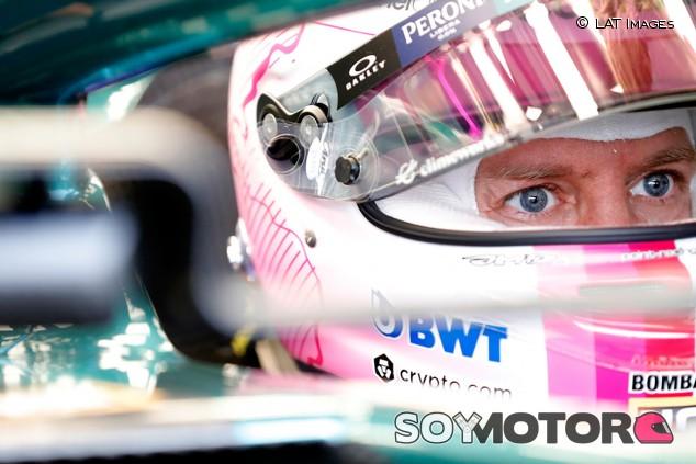 Vettel, motivado con la búsqueda del límite del Aston Martin - SoyMotor.com
