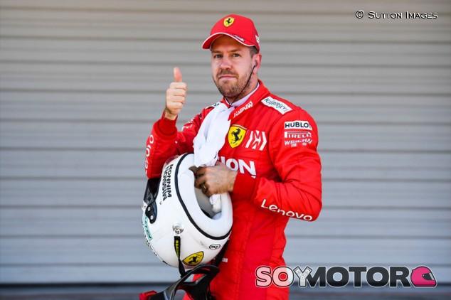 "Vettel: ""La mejora de Singapur me ayudó con mis problemas"" - SoyMotor.com"