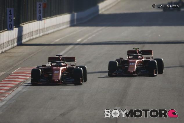 Ferrari en el GP de Azerbaiyán F1 2019: Domingo - SoyMotor.com