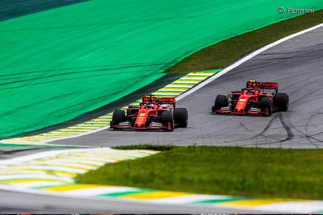 Vettel niega que girara a la izquierda hacia Leclerc en Brasil - SoyMotor.com