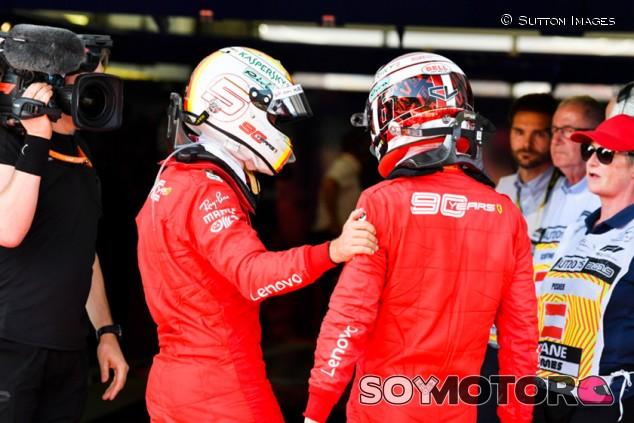 "Guiño de Leclerc a Vettel en redes sociales: ""Parad de odiar a Seb"" - SoyMotor.com"