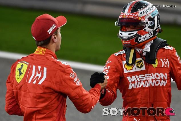"Leclerc: ""Vettel ha cometido menos errores que yo"" - SoyMotor.com"