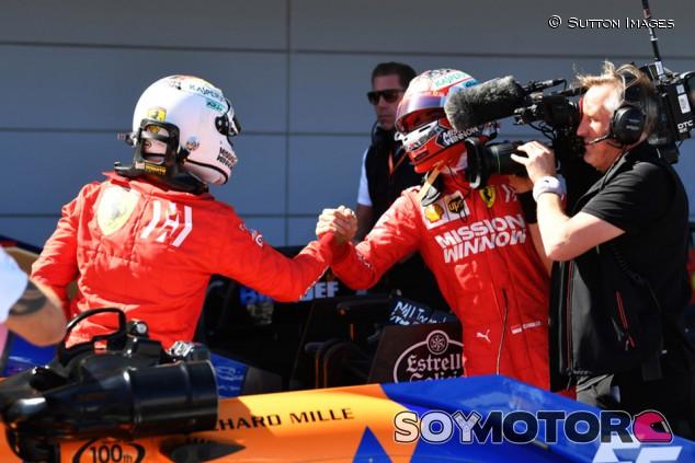 """Binotto: """"Vettel y Leclerc se llevan bien, hasta se dejan los móviles"""" - SoyMotor.com"""