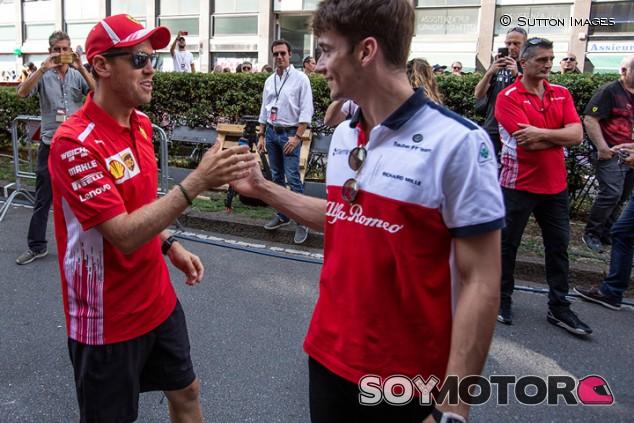"Webber: ""Leclerc puede ser un dolor de cabeza, pero Vettel está listo"" - SoyMotor.com"