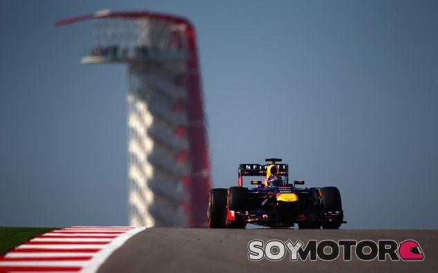 Sebastian Vettel lideró los Libres 2 del GP de Estados Unidos - LaF1