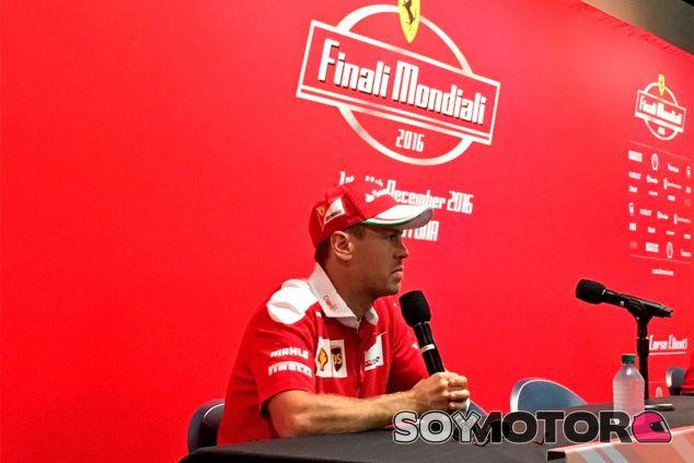 Sebastian Vettel en las Finali Mondiali - LaF1