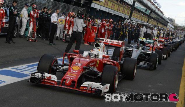 Sebastian Vettel en Australia - LaF1