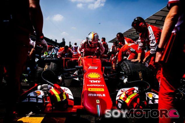 Vettel considera el 2015 un buen año para él y Ferrari, y confía en mejorar en el futuro - LaF1
