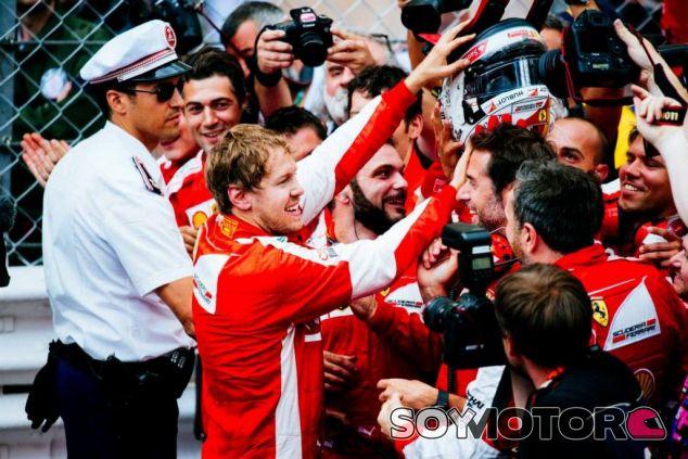 Sebastian Vettel se siente muy a gusto en Ferrari - LaF1