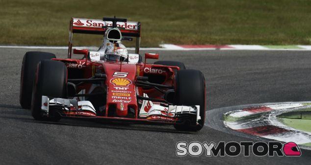 Vettel durante el GP de Italia - SoyMotor