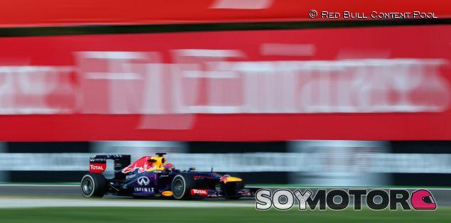 Sebastian Vettel lideró ayer en Monza los entrenamientos libres - LaF1