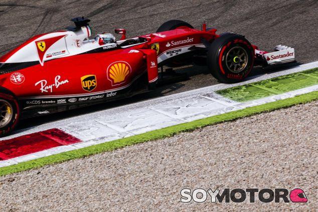 Sebastian Vettel en Monza - LaF1