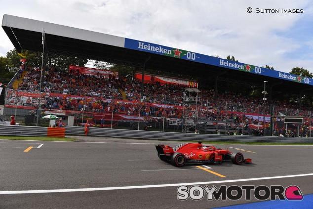 Sebastian Vettel, en el Gran Premio de Italia 2018 - SoyMotor.com
