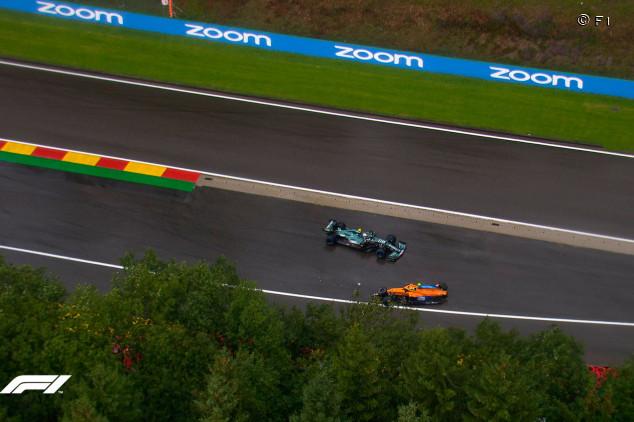 """Vettel, el ángel de Spa: """"Pedí bandera roja, ¿está Norris bien?""""  - SoyMotor.com"""