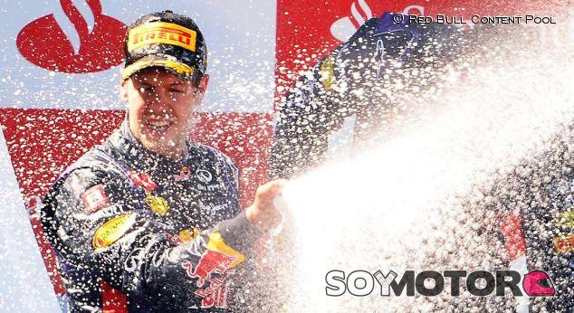 Red Bull en el GP de Alemania F1 2013: Domingo