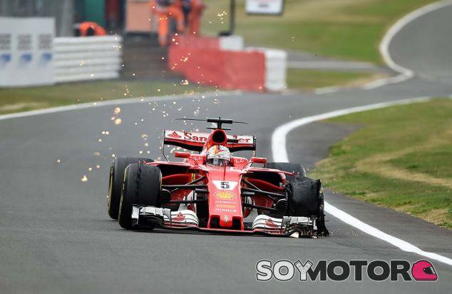 Ferrari en el GP de Gran Bretaña F1 2017: Domingo - SoyMotor.com