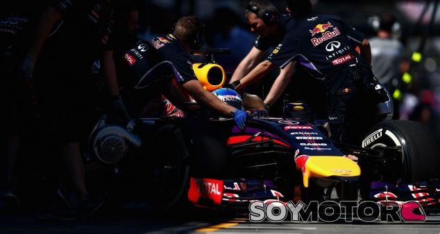 Red Bull en el GP de Australia F1 2014: Viernes