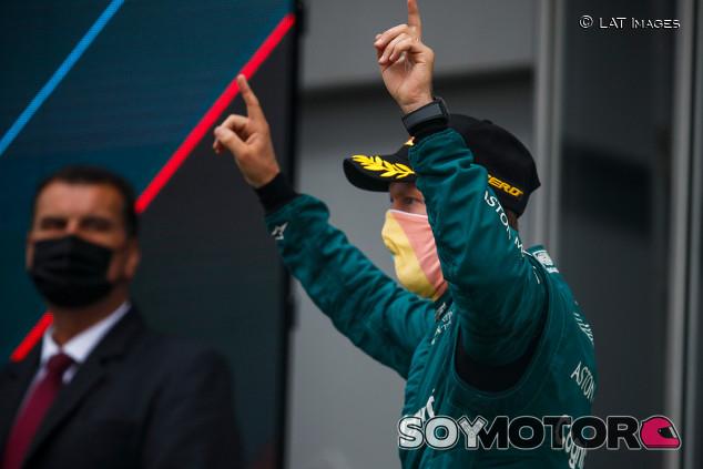 Aston Martin apela la exclusión de Vettel de Hungría - SoyMotor.com