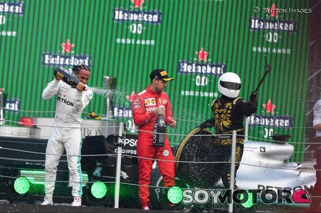 Resultado de imagen de Podio F1 mÉXICO 2019