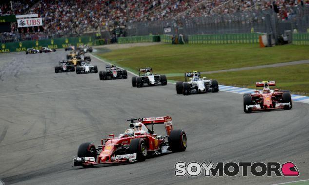Sebastian Vettel y Kimi Räikkönen en Alemania - LaF1
