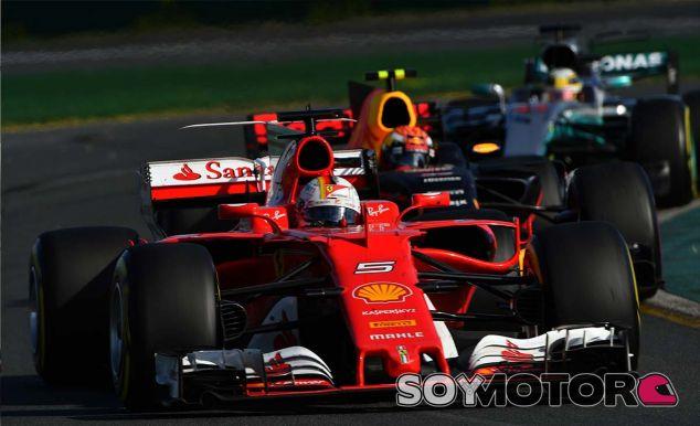 """Vettel: """"Me encantaría tener una batalla cercana con Hamilton""""  - SoyMotor.com"""