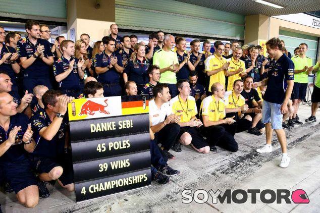 Sebastian Vettel tras la carrera de hoy - LaF1