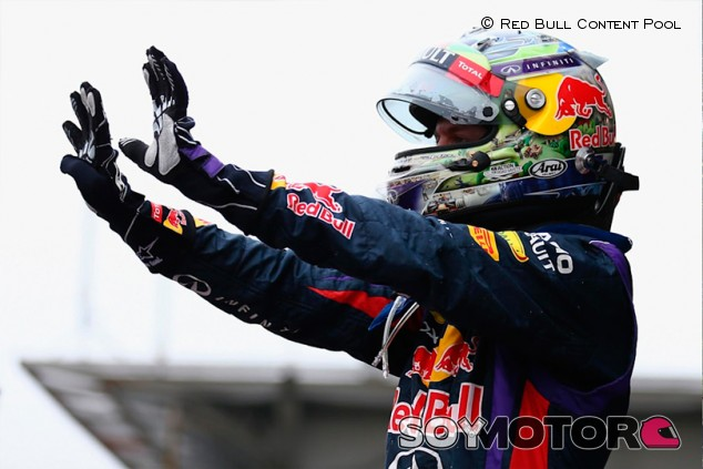 El récord de victorias consecutivas de Vettel, intacto tras siete años - SoyMotor.com