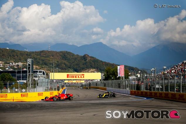 Ferrari usó a Vettel en Sochi para beneficiar a Leclerc - SoyMotor.com