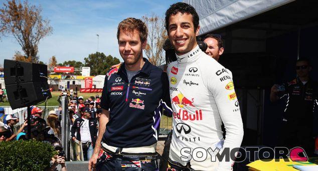 Vettel ha asegurado que Ricciardo y él podrán aprender el uno del otro - LaF1