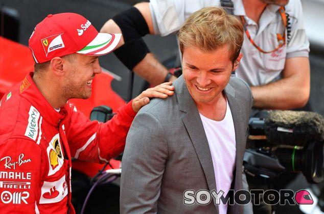 Sebastian Vettel y Nico Rosberg en Mónaco - SoyMotor.com